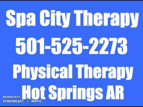 Sciatic Pain in Hot Springs AR | Spa City Therapy | 501-525-2273