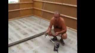 видео Стяжка с керамзитом на кухне ч.5