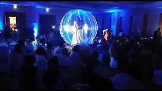 Globe bride Groom entry concept By Glamour Nitz Events & Entertainment 9873352955...