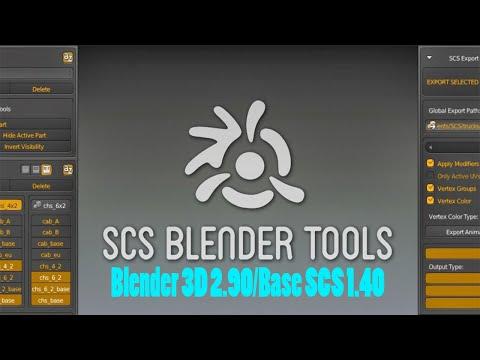 SCS Tools Blender