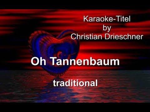 Oh Tannenbaum - traditional - Karaoke