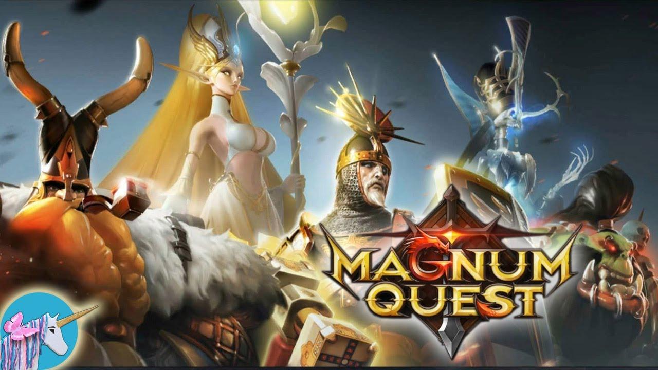 Magnum Quest gameplay - YouTube