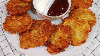 Драники | Простой рецепт драников! Драники картофельные