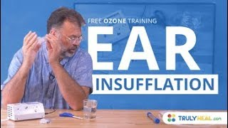 Ozone Ear Insufflation - Free ozone training. Learn more about the ...