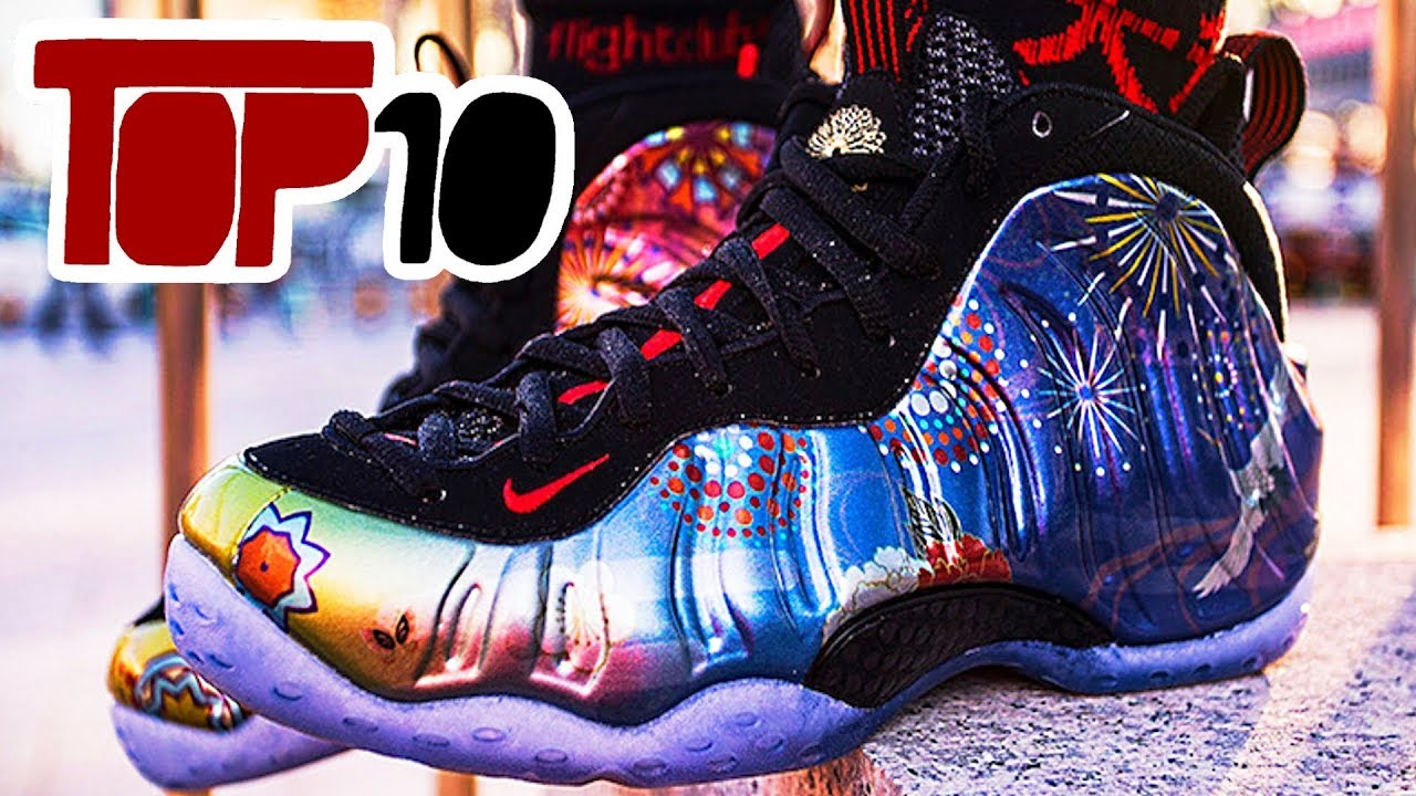 cc998b0f44dda Top 10 Nike Air Foamposite One Shoes Of 2018 - YouTube