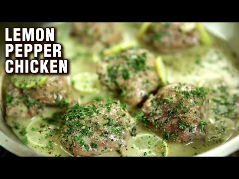 Easy Lemon Pepper Chicken Recipe | Chicken Recipe | Quick And Easy Chicken Starter | Varun Inamdar