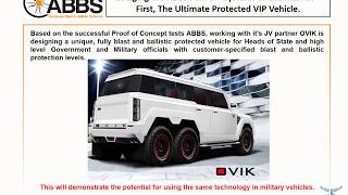 AMPS Technology Future Vehicle Survivability 10th October 2017 Timed