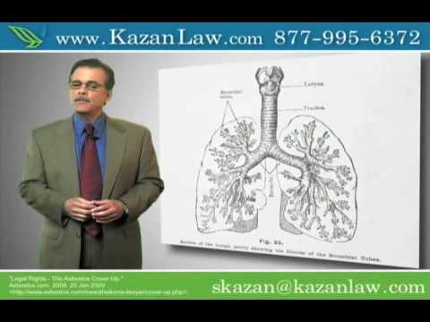 Asbestos Exposure Attorneys, Asbestosis, Mesothelioma Video