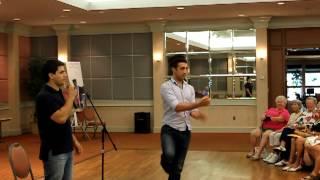 Azerbaijani Dance Lesson, Movement of the Eagle