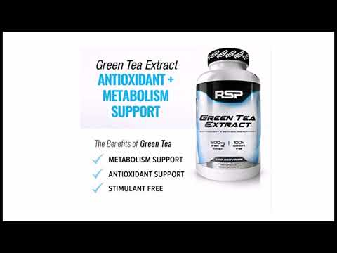 SP Green Tea Extract with EGCG, Weight Loss Supplement for Men and Women, AntioxidantMetabolism Su