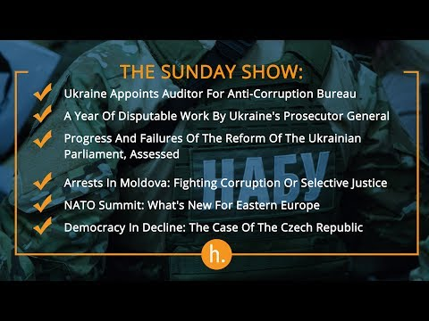 The Sunday Show: NABU Auditor, Ukraine's Prosecutor General's Year, Arrests in Moldova