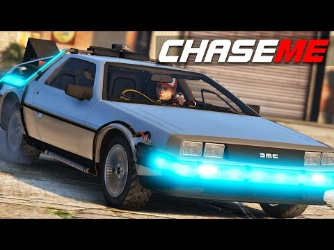 Chase Me E04 - Delorean Time Machine from Back to the Future