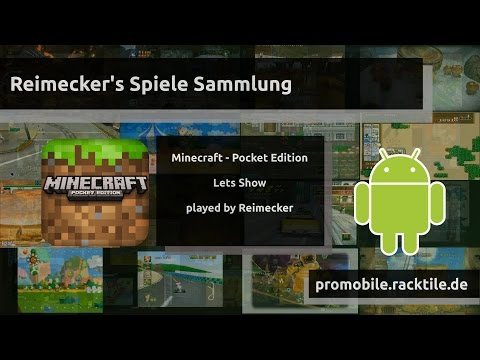 Lets Show : Minecraft Pocket Edition [Android]