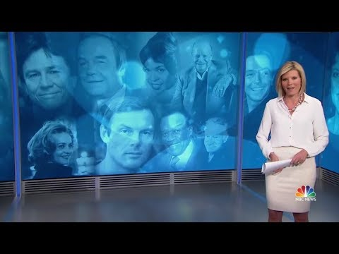 In Memoriam, 2017  as seen on NBC NIghtly News