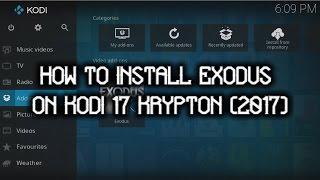 How to install Exodus on Kodi 17 Krypton (2017)