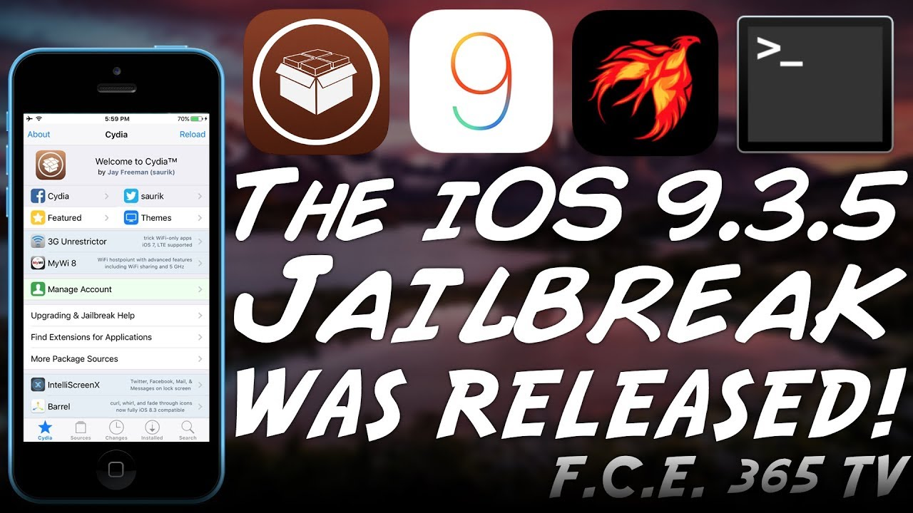 iOS 9.3.5 JAILBREAK WAS RELEASED | How to Jailbreak iPhone 4S ...