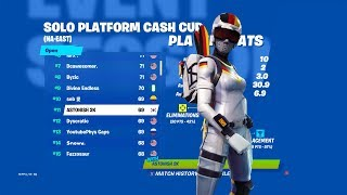 How I placed 11th in Fortnite Platform Cup On Console($500)