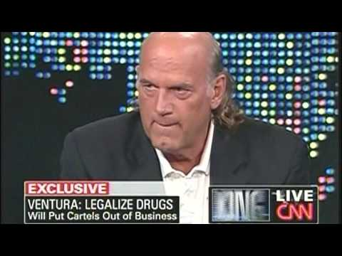 Jesse Ventura On Larry King Live Part 1 Of 2 May.11, 2009