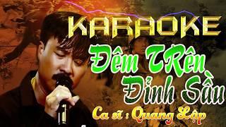 Karaoke Đêm Trên Đỉnh Sầu | Nhạc Vàng trước 1975