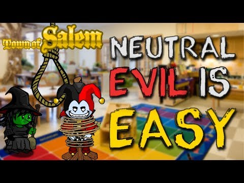 NEUTRAL EVIL IS EASY | Town Of Salem Ranked Game
