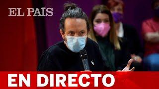 DIRECTO #4M | IGLESIAS participa en un acto de PODEMOS