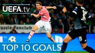 Top ten UEFA Champions League goals of 2015/16
