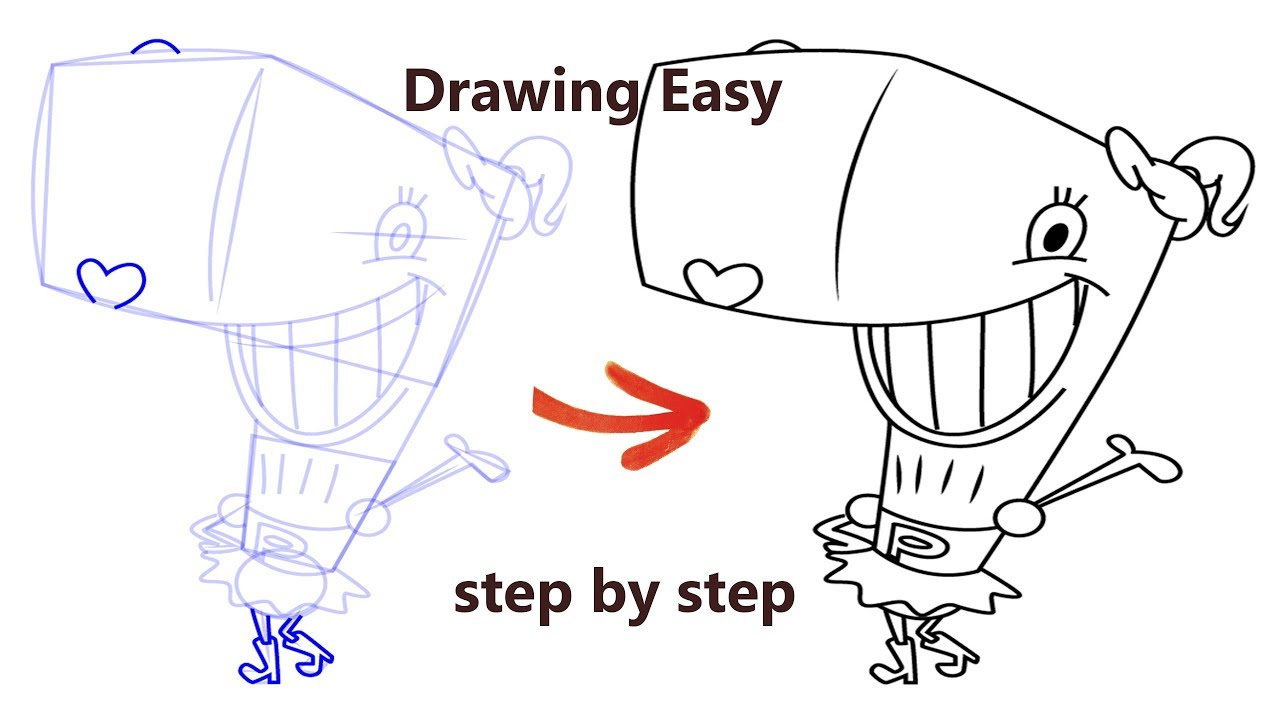 The Spongebob Squarepants How To Draw Pearl Krabs