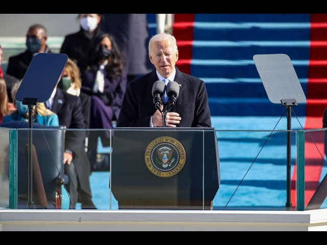 Diễn văn tuyên thệ nhậm chức của Tổng thống Joe Biden