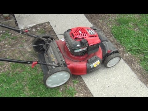 Troy Bilt Mower Won't Start