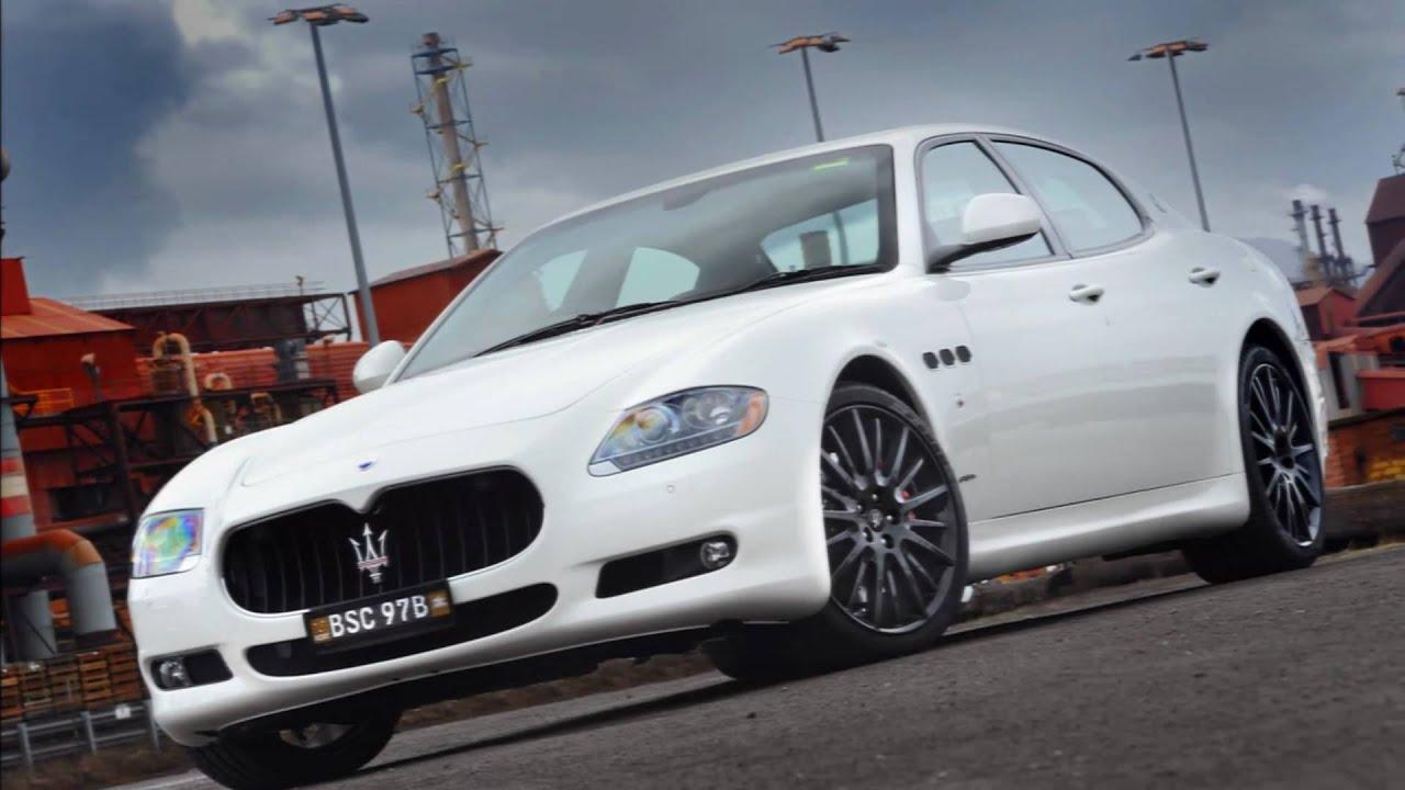 2011 Maserati Quattroporte Sport GT S MC Sportline - YouTube