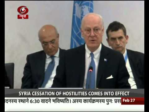 UN demands Syria parties halt fighting