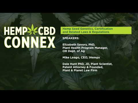 Hemp Seed Genetics, Certification And Related Laws & Regulations