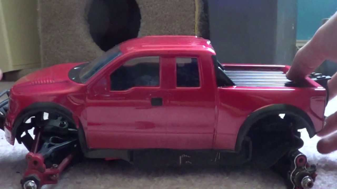Proline Ford F150 Body For Traxxas 1 16 Series Demo Gecko