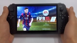 JXD S7800b Can Play FIFA 15 Association Football Simulation Video Game Mission 2