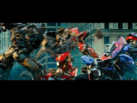 Transformers dark of the moon Optimus prime vs Sentinel prime vs Megatron (1080pHD VO) poster