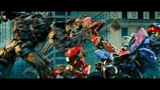 Transformers dark of the moon Optimus prime vs Sentinel prime vs Megatron (1080pHD VO)