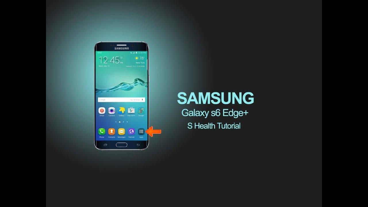 Samsung Galaxy S6 Edge S Health Tutorial