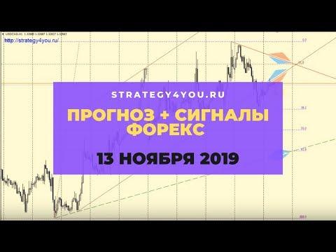 Прогноз EURUSD (+9 пар) на 13 НОЯБРЯ 2019 + сигналы, обзоры, аналитика форекс