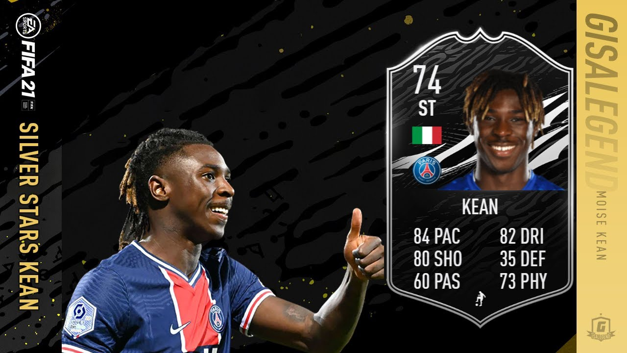 Fifa 21 Silver Stars If Moise Kean Objective Completed Fast 74 Rated Youtube