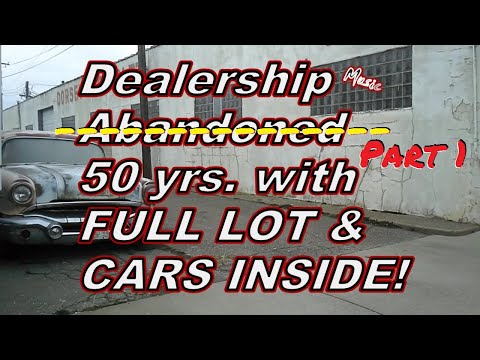 Barn Find Dealership (Not Abandoned) with CARS on LOT, NEW IMPALA & MORE inside!