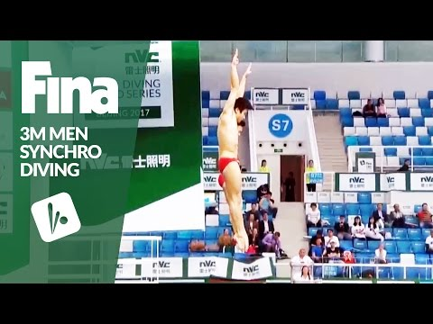 Top 5 Dives Men's 3m Synchro Final | FINA/NVC Diving World Series - Beijing 2017