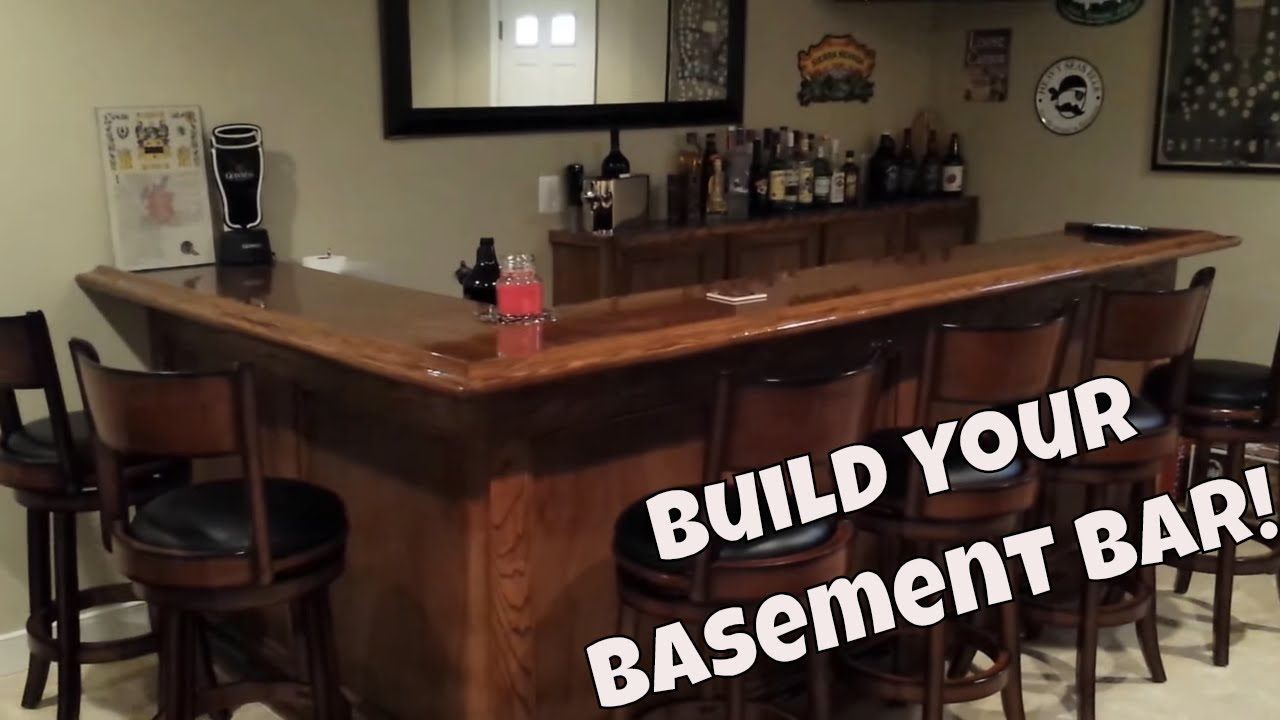 finished basement bar.  Our Finished Basement with wet bar YouTube