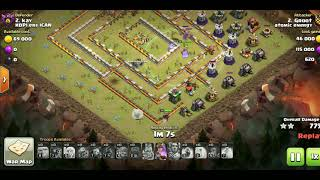 99% or 100%? Closest Clash of Clans attack ever!