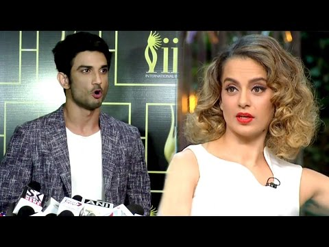 Thumbnail: Sushant Singh Rajput's BEST Reply To Kangana's Nepotism Comment On Koffee With Karan Season 5