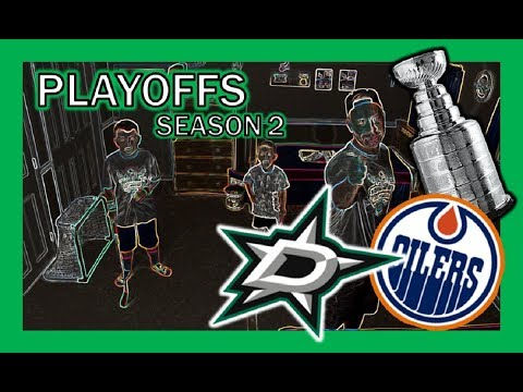KNEE HOCKEY PLAYOFFS - OILERS / STARS - WESTERN CONFERENCE SEMIFINALS - SEASON 2 - QUINNBOYSTV