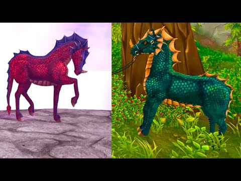 Magic Color Change Dragon Horses + Pets Star Stable Online Update