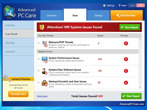 How to remove Advanced PC Care (Malware Removal Video) - YouTube