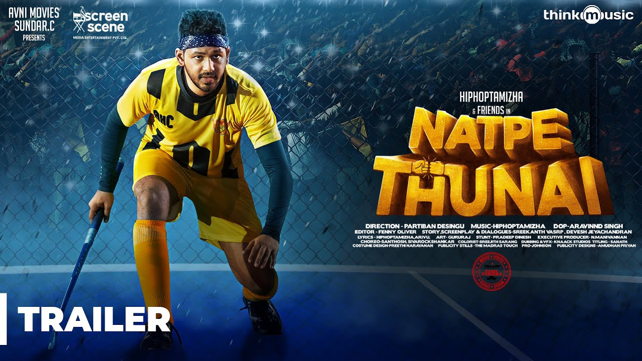 Download Natpe Thunai Official Trailer | Hiphop Tamizha, Anagha, Karu Pazhaniappan | Sundar C