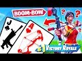 SEASON 8 BLACKJACK Card Game *NEW* GAME MODE in Fortnite Battle Royale