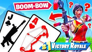 SEASON 8 BLACKJACK Card Game *NEW* GAME MODE in Fortnite Battle Royale